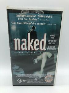 NAKED - Mike Leigh - Rare VHS PAL Video - Free Postage