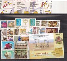España 1994 Edifil 3277/3335 Sellos ** Año Completo con Hojitas Spain Stamps