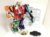 DHL BANDAI Power Rangers Overdrive Boukenger DX DAITANKEN megazord lot JAPAN VG+