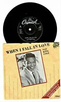 "NAT KING COLE When I Fall In Love Love Letters Ramblin' Rose 45rpm 7"" Vinyl JA"