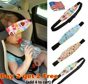 Kids Adjustable Car Seat Sleep Nap Aid Head Support Belts Fastener Holder Safe