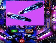 BATMAN BLACK KNIGHT Pinball Flipper Armour Mod-2 piece CHOOSE PIC 1 OR 2*