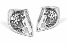 VW Polo 6N2 99-01 Clear Front Indicator Repeaters Set Pair Driver Passenger