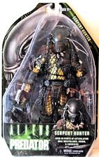 RARE ALIENS VS PREDATOR SERPENT HUNTER MONSTER ACTION FIGURE NECA ALIEN HELMET &