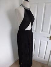 BNWT Ted Baker Langley Erela Black Embellished Maxi Cover Up Dress size L