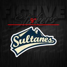"Sultanes de Monterrey Sultanes Sticker Decal 9"""