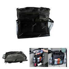 Black Car Seat Back Multi-Pocket Insulation Storage Bag Accessories Organizer