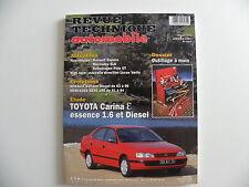 revue technique automobile RTA neuve Toyota Carina essence 1.6 et diesel n° 591
