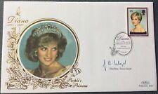 The Rev TONY LLOYD, Leprosy Mission, Signed 3.2.1998 Diana Princess Of Wales FDC