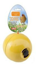 Lixit Chicken Toy Yellow | Fill with Treats Seeds Meal Worms