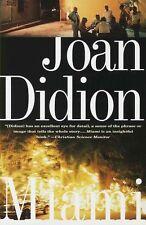 Miami by Joan Didion (Paperback / softback, 1998)