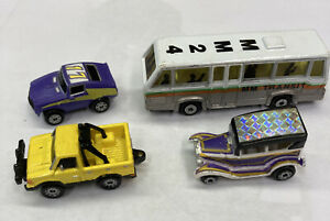 vintage micro machines lot Of 4