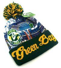Green Bay New Leader Stadium Beanie Toque Pom Packers Green Knit Era Hat Cap