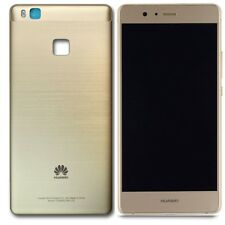 Gold Huawei P9 Lite VNS-L21 G9 LCD Display Touch Digitizer Assembly+Frame Cover