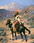 An Indian Trapper Frederic Remington Wall Art Print Canvas Giclee Reproduction S