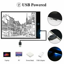 A4 A5 LED Drawing Board Light Box Slim Tracing Pad Copy Tattoo Art Craft Stencil