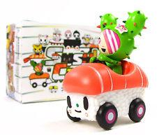 """Tokidoki SUSHI CARS - SANDY SALMON SUPER SPORT 3"""" Mini Vinyl Figure Blind Box"""