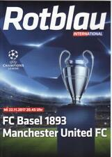 2017/18      FC Basel      v      Manchester United   MINT