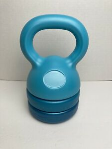 Adjustable Kettlebell 5-12 lb, Exercise & Dumbbells for Full-Body and Strength
