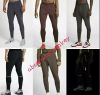 Nike Swift Flex Men's Trousers Running Training Gym Pants Bottoms DRI-FIT w Zips