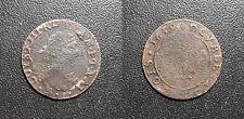 Louis XIII - Double tournois 1639 axe Loire-Rhône type B1