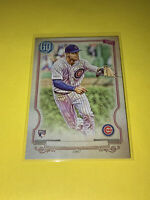 2020 Gypsy Queen Nico Hoerner Missing Nameplate Rookie Variation Chicago Cubs