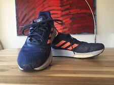 adidas Response Boost ST Womens Running Shoes - Blue Size 6.5