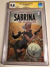 CGC SS 9.8 Sabrina The Teenage Witch v3 #1 Variant signed Kiernan Shipka TV show