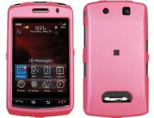 Rubberized Solid Cover Pink For BlackBerry Storm 9530