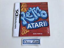 Notice (Sans Jeu) - Retro Atari Classics - Nintendo DS - PAL FRA