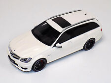 1/18 GT Spirit Mercedes Benz C Class C63 AMG Touring in White Limited 1250 GT147