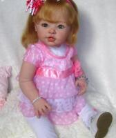 Unpainted 29inch Reborn Toddler Doll Kits (Body+Eyes for Free) Vinyl Head Limbs