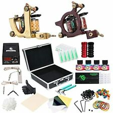 Tattoo Kits Dragonhawk Complete 2pcs Coil Machine Guns Color Immortal Inks Power