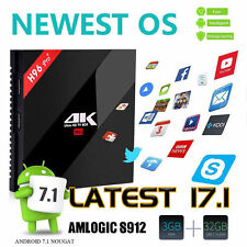2017 H96 Pro+ 3GB/32GB Amlogic S912 Octa Core Android 7.1 TV Box 5G AC Dual WiFi