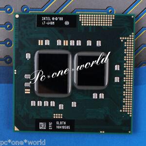 100% OK SLBTN Intel Core i7-640M 2.8 GHz Dual-Core Notebook Prozessor CPU