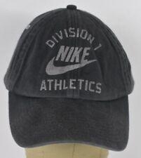 Navy Blue Division 1 Nike Athletics Logo Baseball Hat Cap Adjustable Strap