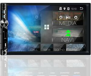 Tristan Auron AUTORADIO mit Bildschirm DAB Bluetooth 2 Din Navigation Navi WIFI