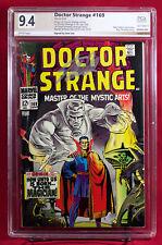 DOCTOR STRANGE #169 (Marvel) PGX graded 9.4 NM Near Mint - signed STAN LEE +CGC!
