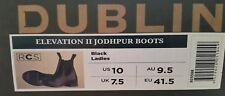 BNIB DUBLIN ELEVATION 2 RIDING BOOTS /JODPHUR/ PADDOCK BOOTS 9.5