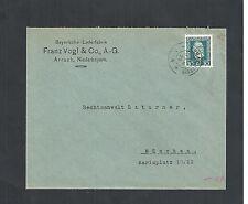 Deutsches Reich, 1924 Michelnr: 368 o, Ganzsache, Arrach, Michelwert € 15