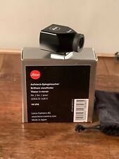 Leica Bright Line M 24mm Viewfinder Shoe Mount Boxed #12027