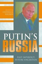 Putin's Russia : Past Imperfect, Future Uncertain (2015, Paperback)