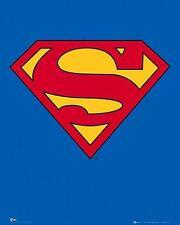 Superman : Classic Logo - Mini Poster 40cm x 50cm (new & sealed)