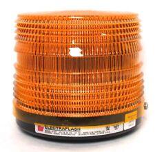 Federal Signal Corp Electraflash Strobe Warning Light 141st Amber 24vdc Newlt