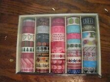 New Recollections Box of 45 rolls Multi color assortment lot Seasonal WASHI TAPE