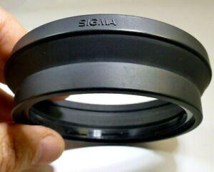 SIGMA twist on Rubber Hood shade for 28-200mm lens AF 72mm rim f3.8-5.6
