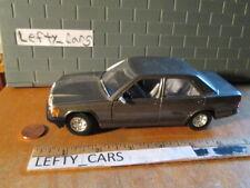 Bburago Mercedes Benz 190E Scale 1/25 - LOOSE! NO BOX!