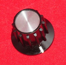 "LOT 8 PCS - QUALITY INSTRUMENT KNOBS - ALCOKNOB PKA-70B 1/4"" - ALLEN SET SCREW"