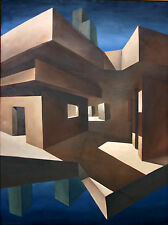 Ronald Ray Reekers, California Contemporary artist, original oil on canvas 1985