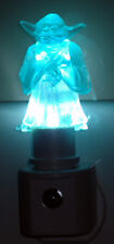 CUSTOM YODA NIGHT LIGHT l.e.d. star wars clone wars led nightlight rotj